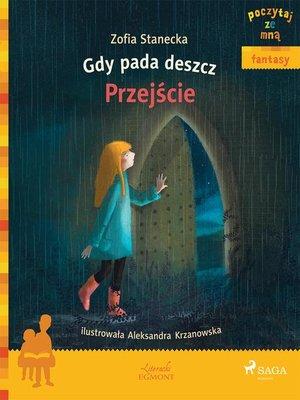 cover image of Gdy pada deszcz--Przejście