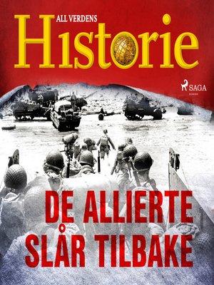 cover image of De allierte slår tilbake