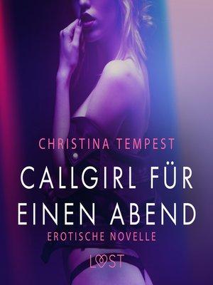 cover image of Callgirl für einen Abend