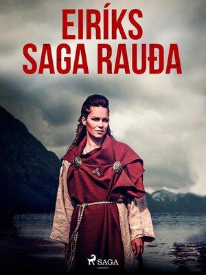 cover image of Eiríks saga rauða