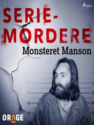 cover image of Monsteret Manson