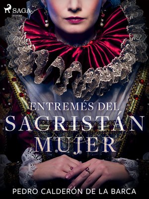 cover image of Entremés del sacristán mujer