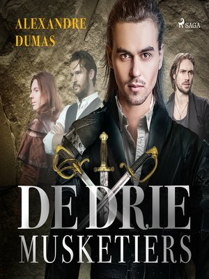 cover image of De drie musketiers