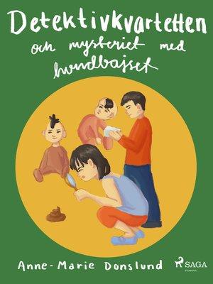 cover image of Detektivkvartetten och mysteriet med hundbajset