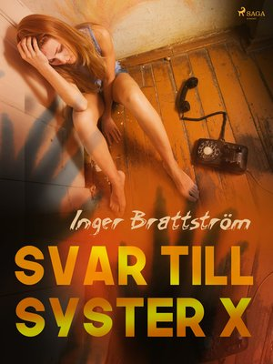 cover image of Svar till syster X