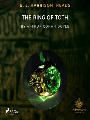 cover image of B. J. Harrison Reads the Ring of Toth