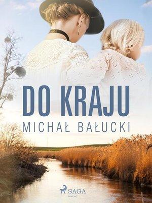 cover image of Do kraju