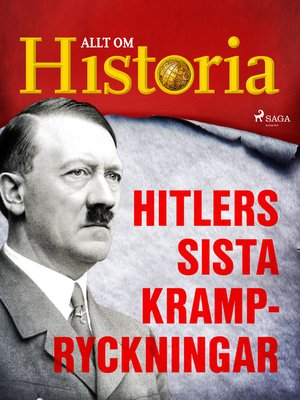 cover image of Hitlers sista krampryckningar