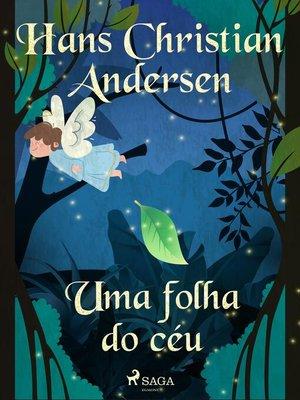 cover image of Uma folha do céu
