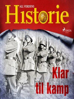 cover image of Klar til kamp