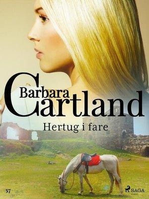 cover image of Hertug i fare