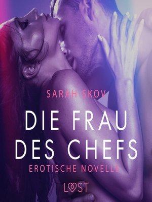 cover image of Die Frau des Chefs
