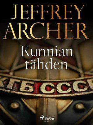cover image of Kunnian tähden