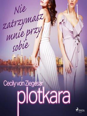cover image of Plotkara 8