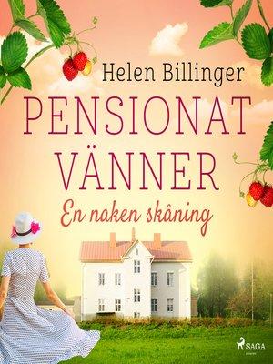 cover image of Pensionat vänner – En naken skåning