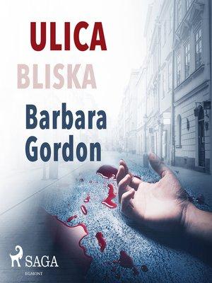 cover image of Ulica Bliska