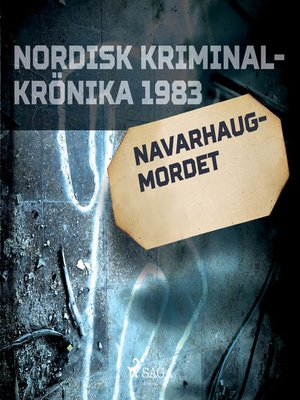 cover image of Navarhaugmordet
