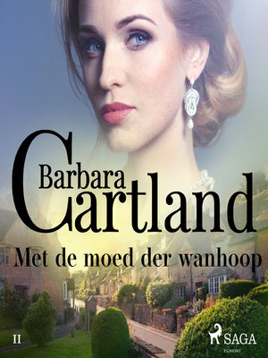 cover image of Met de moed der wanhoop