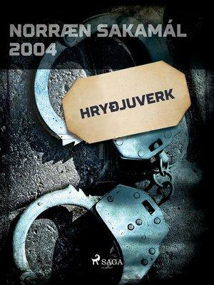 cover image of Hryðjuverk