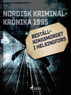 cover image of Beställningsmordet i Helsingfors