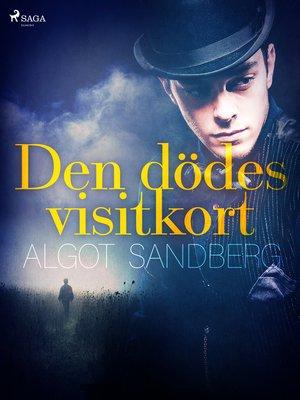 cover image of Den dödes visitkort
