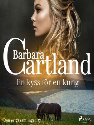 cover image of En kyss för en kung