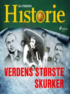 cover image of Verdens største skurker