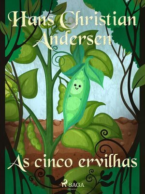 cover image of As cinco ervilhas