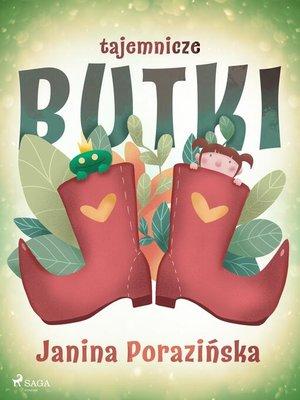 cover image of Tajemnicze butki