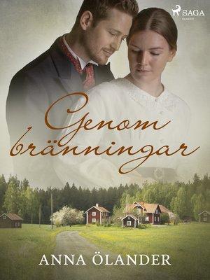 cover image of Genom bränningar