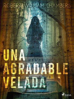 cover image of Una agradable velada