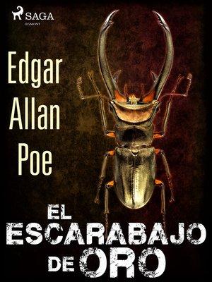 cover image of El escarabajo de oro