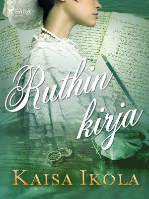 cover image of Ruthin kirja