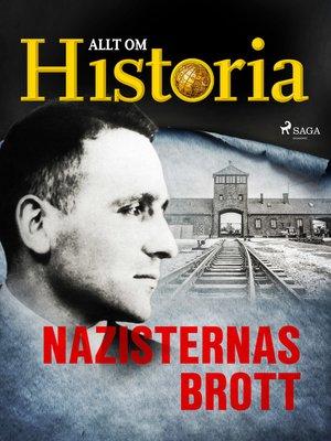 cover image of Nazisternas brott