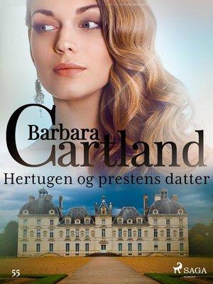 cover image of Hertugen og prestens datter