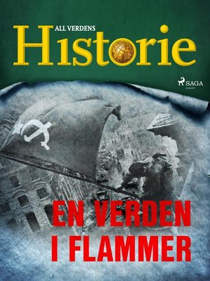 cover image of En verden i flammer