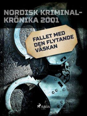 cover image of Fallet med den flytande väskan