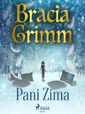 cover image of Pani Zima