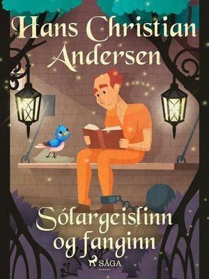 cover image of Sólargeislinn og fanginn