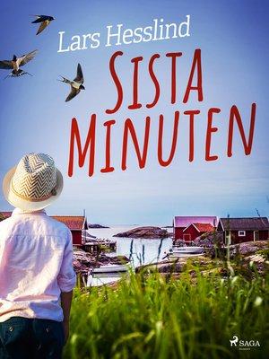 cover image of Sista Minuten