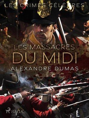 cover image of Les Massacres du Midi