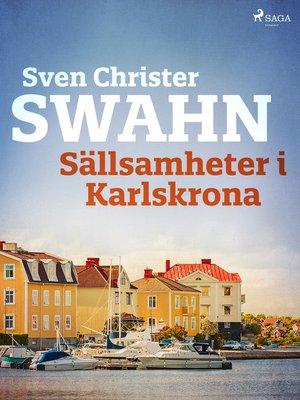 cover image of Sällsamheter i Karlskrona