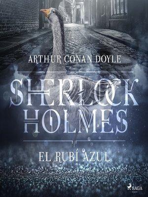cover image of El rubí azul--Dramatizado