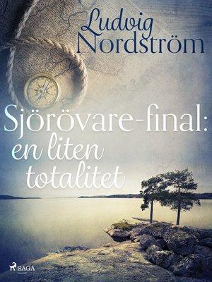 cover image of Sjörövare-final