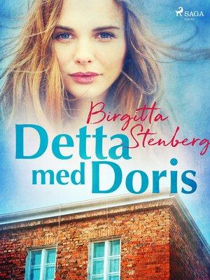 cover image of Detta med Doris