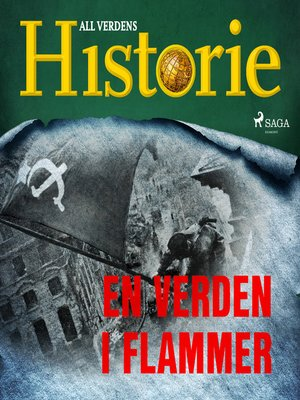 cover image of En verden i flammer
