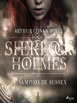 cover image of El vampiro de Sussex--Dramatizado