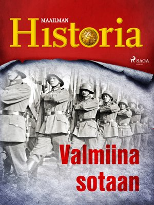 cover image of Valmiina sotaan
