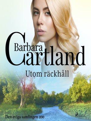 cover image of Utom räckhåll