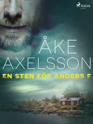 cover image of En sten för Anders F